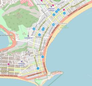 estacionamientos Copacabana